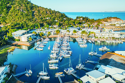 Peppers Marina overflows with competitors yachts during MIRW
