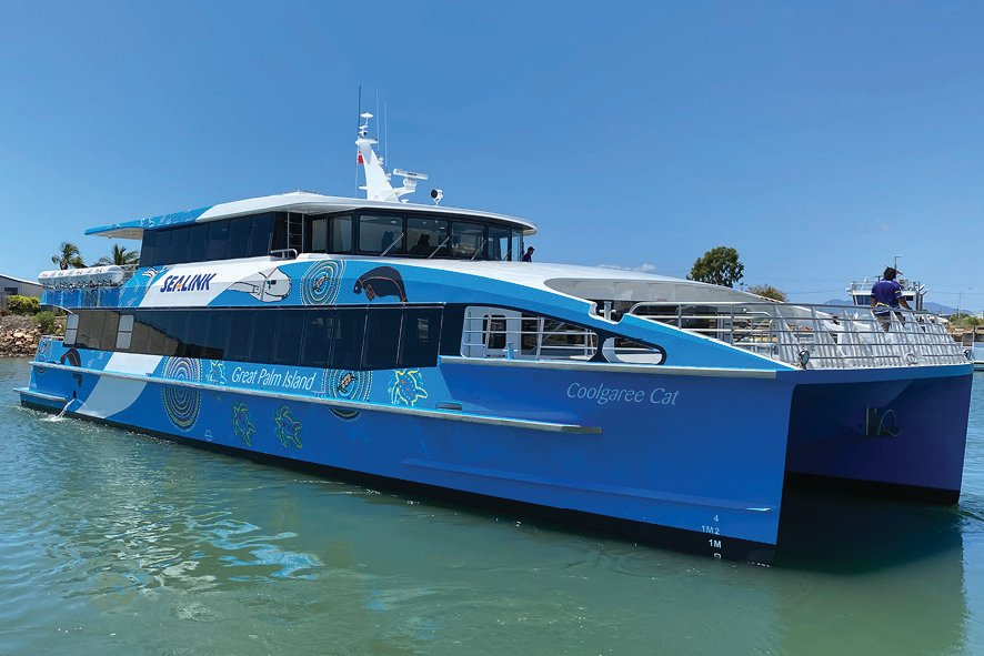SeaLink's newest vessel to join the fleet - Coolgaree Cat